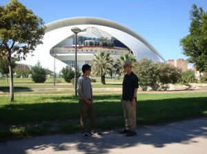 052. Alex and Wes in Front of Palau